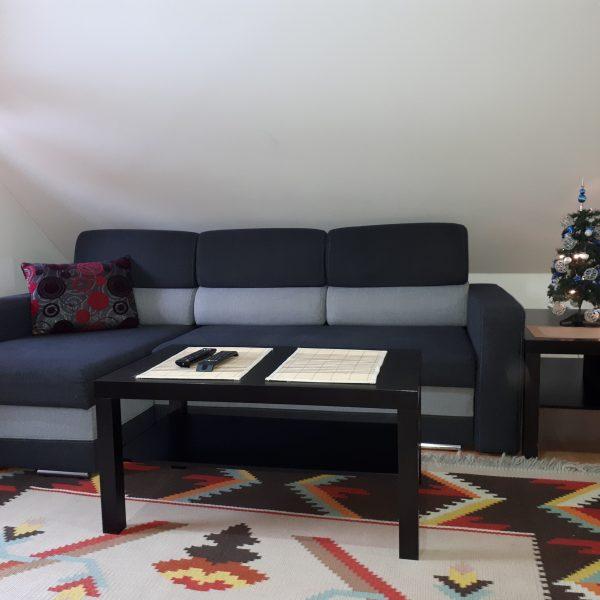obývačka v podkroví